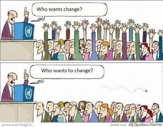 Changes doorvoeren